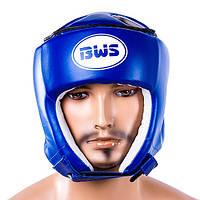 Шлем защитный BWS со шнуровкой, синий, фото 1
