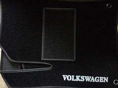Коврики в салон ворсовые на резиновой основе Volkswagen Passat B6-B7 (америка)