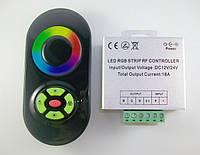 RGB контроллер 18А RF (черный сенсорный пульт), фото 1