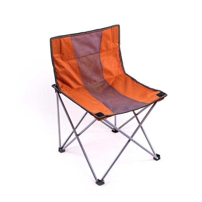 Стул складной туристический 100кг ВС016-5L оранжевый