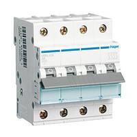 Автоматический выключатель In=32А 4п С 6kA 4м Hager (MC432A), фото 1