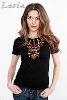 Жіноча футболка з вишивкою Золота осінь