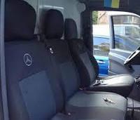 Чехлы на сиденья, авточехлы Mercedes Sprinter 95 1+2  1995 - 2006 Стандарт 3 подголовника Prestige