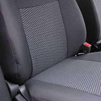 Чехлы на сиденья Peugeot Boxer  2006 -  Стандарт 'Prestige' задняя спинка цельная; 3 подголовника; пер. подлокотник