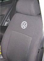 Чехлы на сиденья Volkswagen Crafter 1+2  2006 -  Стандарт 'Prestige' з.сп. цельная; 3 подголовника; пер. подл.