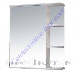 Зеркальный шкафчик с полками Рино-60, левое и правое