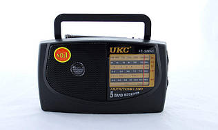 Радио KB 308 + USB, Радиоприемник портативный, Компактное юсб радио, Радиоприемник колонка