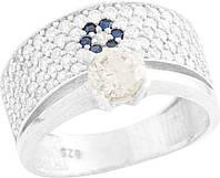 Серебряное кольцо SilverBreeze Серебряное кольцо SilverBreeze с фианитами (0278452) 18.5 размер SKU_0278452-18.5