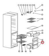 Панель ящика  Indesit  с пиктогрпаммой код С00856032 ( 482000049135 )
