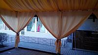 Пошив штор для летней площадки