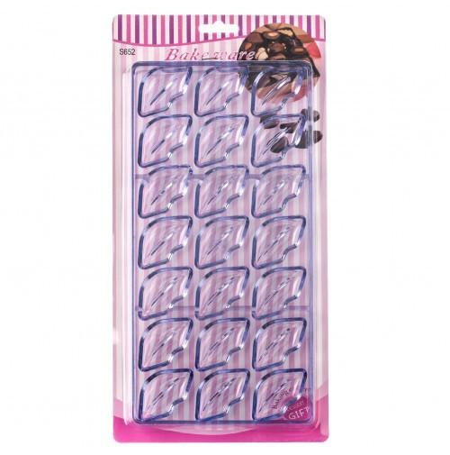 Форма для конфет поликарбонатная Губы