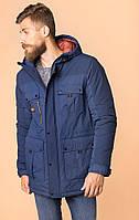 Мужская синяя куртка MR520 MR 102 1660 0819 Dark Navy