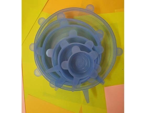 Набор силиконовых крышек, фото 2