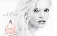 Calvin Klein Sheer Beauty туалетная вода 100 ml. (Кельвин Кляйн Шер Бьюти), фото 3