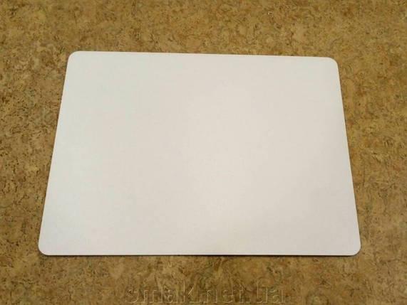 Прямоугольная подложка ДВП 30*30 см, Белая с закругленными краями (1 шт), фото 2