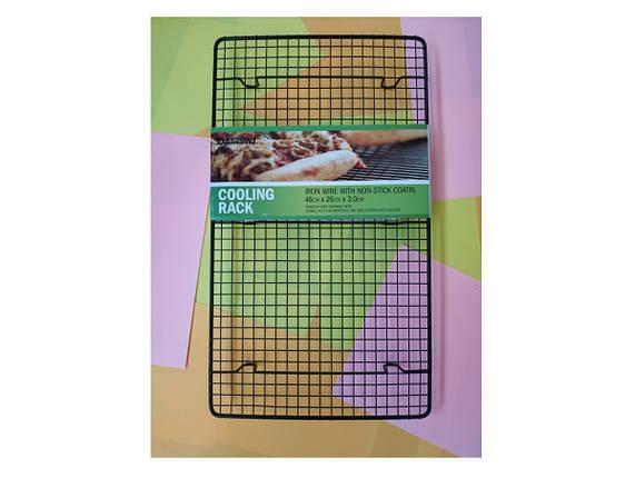 Решетка для заливки десертов 46*26 см Черная, фото 2