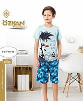Комплект  домашний футболка и шорты  для мальчиков 5-10 лет