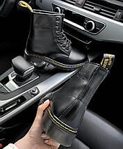 Женские и мужские ботинки Dr. Martens 1460 Black, демисезон - без меха, фото 3