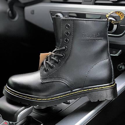 Женские и мужские ботинки Dr. Martens 1460 Black, демисезон - без меха, фото 2