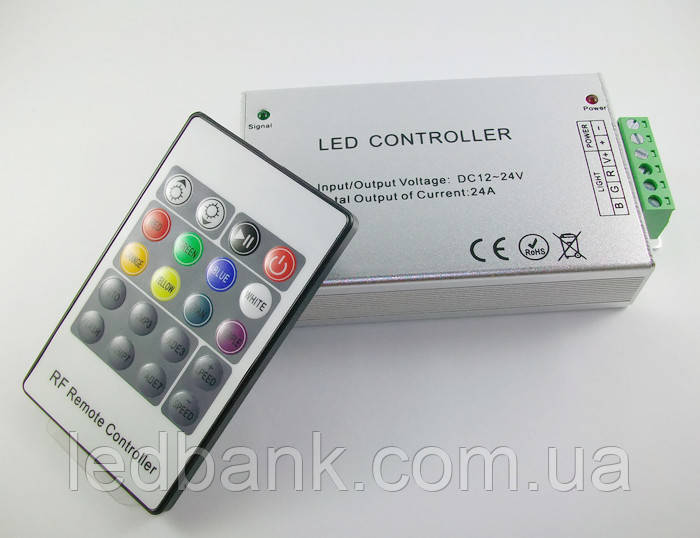 RGB контроллер 24A RF24