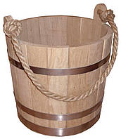 Ведро дубовое - 7 литров