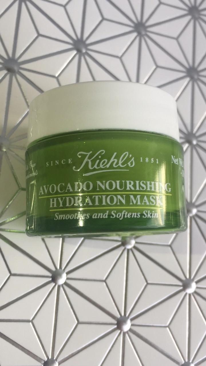 Увлажняющая и питающая маска для кожи лица KIEHL'S Avocado mask