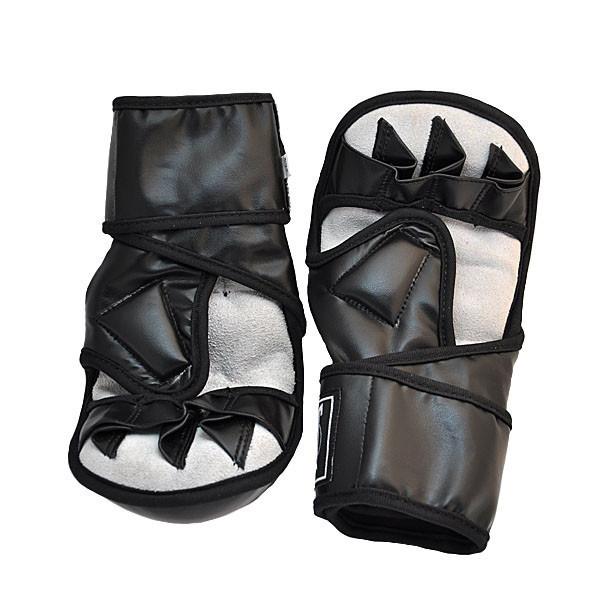 Перчатки Ever MMA, DX415 Черный, XL
