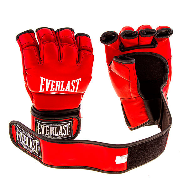 Перчатки Ever MMA, DX364 Красный, S
