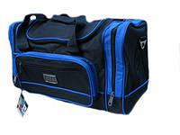 Дорожная сумка Shanhai синие вставки