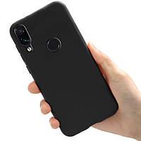 Чехол Style для Xiaomi Redmi Note 7 / Redmi Note 7 Pro бампер силиконовый Черный