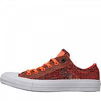 Кеды Converse Chuck Taylor All Star II Ox Hyper Orange/Almost Black Orange Marl - Оригинал
