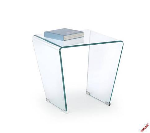 Стол FIDIA (прозрачный) (Halmar), фото 2