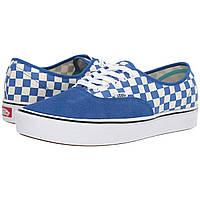Кеды Vans ComfyCush Authentic (Checker) Lapis Blue/True White - Оригинал