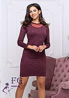 "Женское платье из ангоры ""Tina"", фото 1"