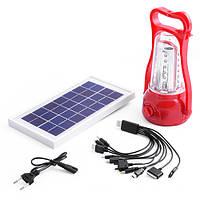 Светодиодная лампа с солнечной панелью и аккумулятором YAJIA YJ-5833