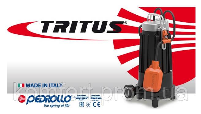 Погружные дренажные элeктpoнacocы с режущим механизмом Tritus, фото 2