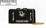 Женская сумка Dior черная