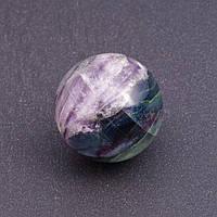 Шар сувенир из натурального камня Флюорит, диаметр 2,8-3см
