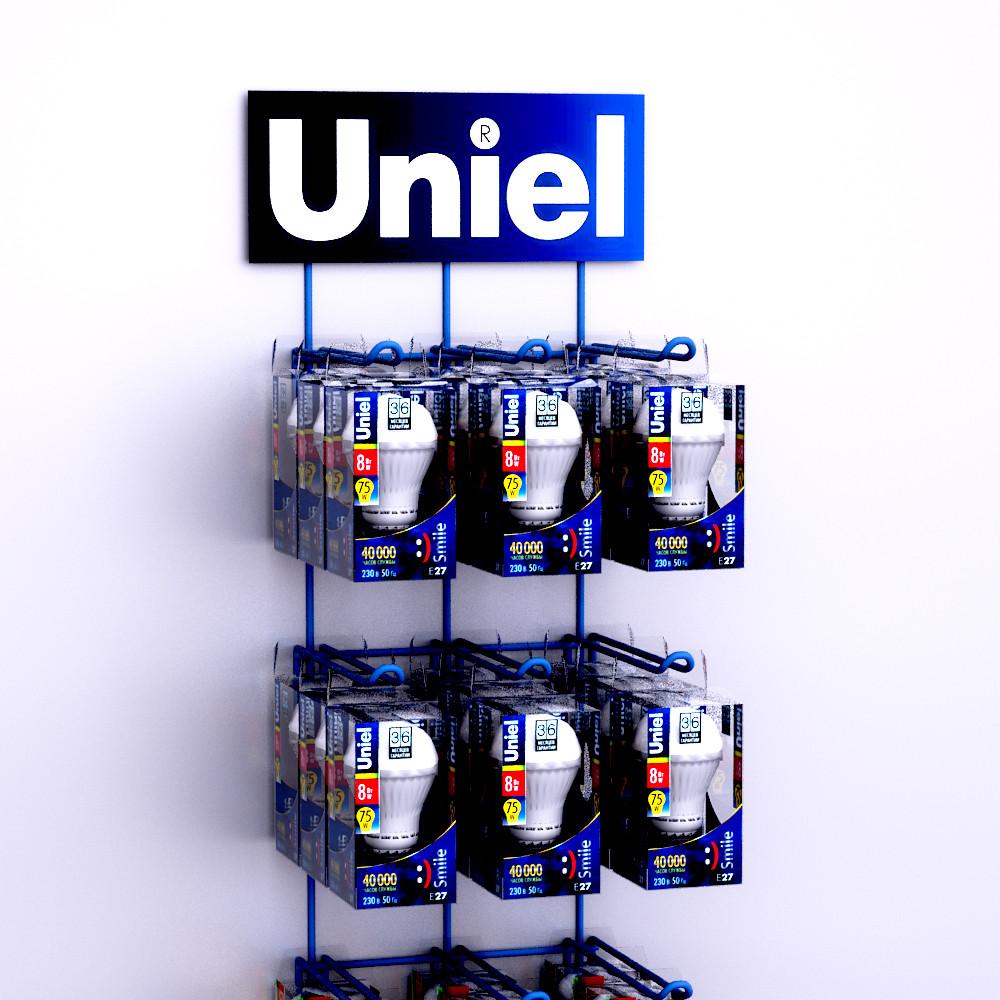 Фото навесные стенды с крючками uniel