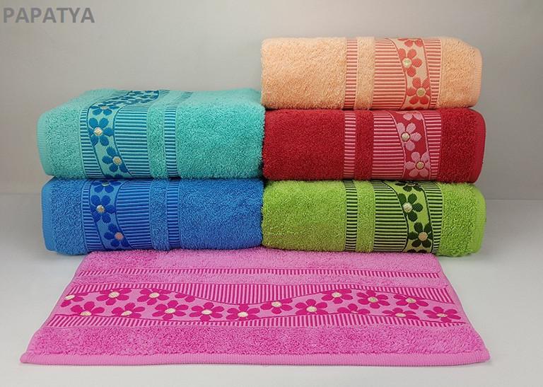Набор хлопковых полотенец Yagmur Cotton PAPATYA 70х140 (4979)