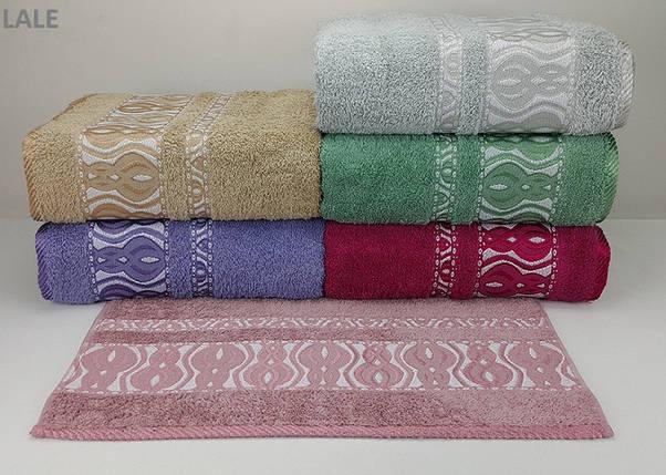 Набор хлопковых полотенец Yagmur Cotton LALE 70х140 (4984), фото 2