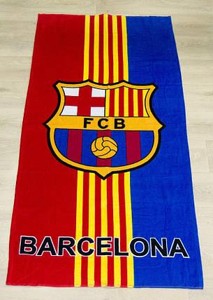 Полотенце пляжное Barcelona 75х150 (5323), фото 2