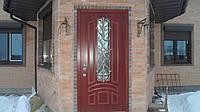 Решетки на двери кованые