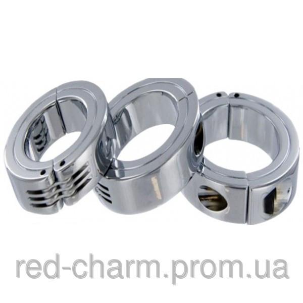 Кольцо разъемное Locking Ring L. Стальное кольцо на пенис 50 мм.