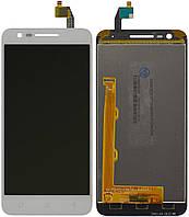 Дисплей (экран) для телефона Lenovo C2 K10a40 + Touchscreen White