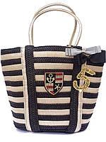 Модная женская сумка в морском стиле (два цвета)