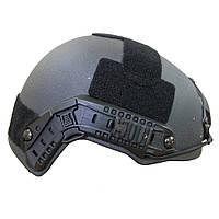 Баллистический шлем FAST NIJ IIIA Black, фото 1