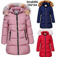 Курточка утепленная для девочек Glo-Story, 134-164 рр. Артикул: GMA8496 {есть:134,152/158,164}