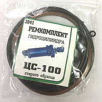 Р/к гидроцилиндра ЦС-100 старого образца БДЮ (МТЗ, ЮМЗ)