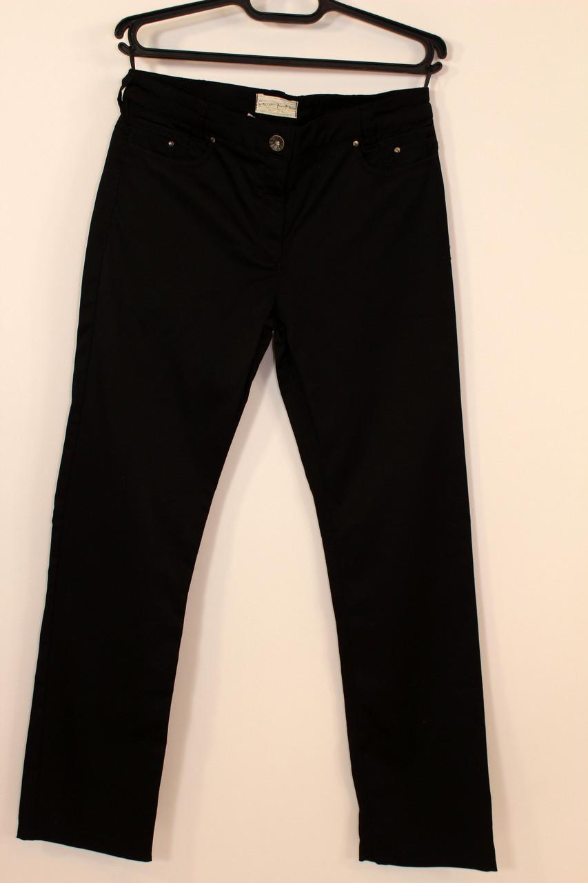 Черные классические брюки прямые 50-52 р